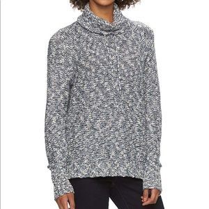 Marled Chaps Cowlneck Sweater